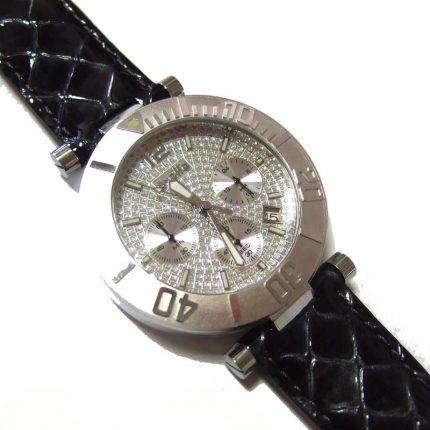Γυναικείο ρολόι OXETTE 11X06-00225 με γκρι δερμάτινο λουράκι