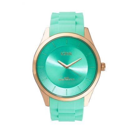 LOISIR 11L75-00245 Ρολόι γυναικείο με σιλικόνη λουράκι