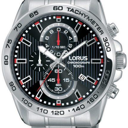 Αντρικό ρολόι χρονογράφος με μπρασελέ LORUS RM381CX9