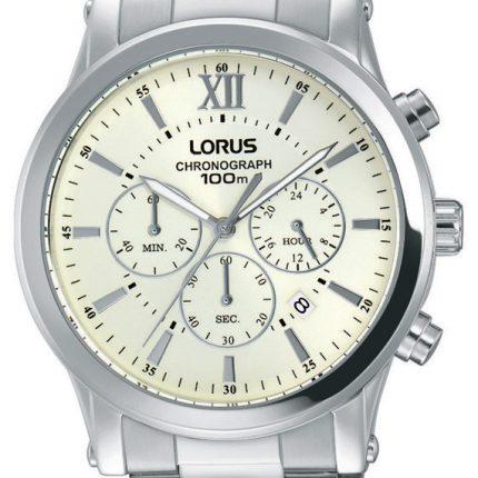 Ανδρικό ρολόι χρονογράφος LORUS RT343FX9 με μπρασελέ