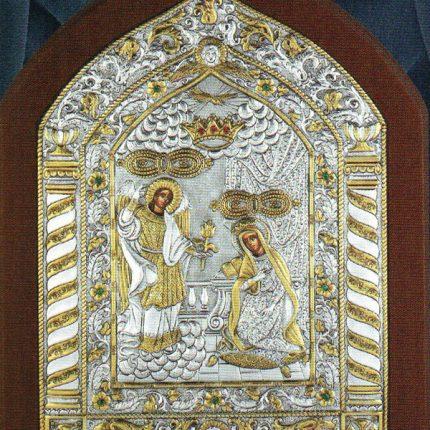 Εικονες Αγιων Ασημενιες - Ευαγγελισμος της Θεοτοκου - K309