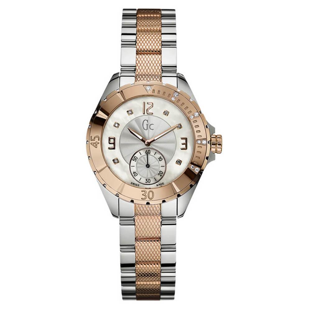 Ρολόι με Μπρασελέ Guess Collection – A70102L1 – GC Γυναικείο ... eee47677555