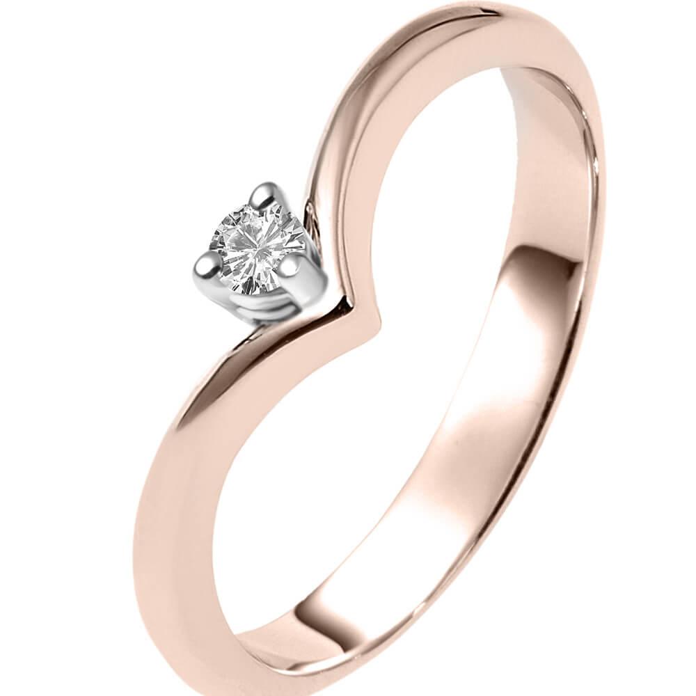 Μονοπετρο Δαχτυλιδι σε Ροζ Χρυσο THE PRECIOUS MA11  3a84807c5c7