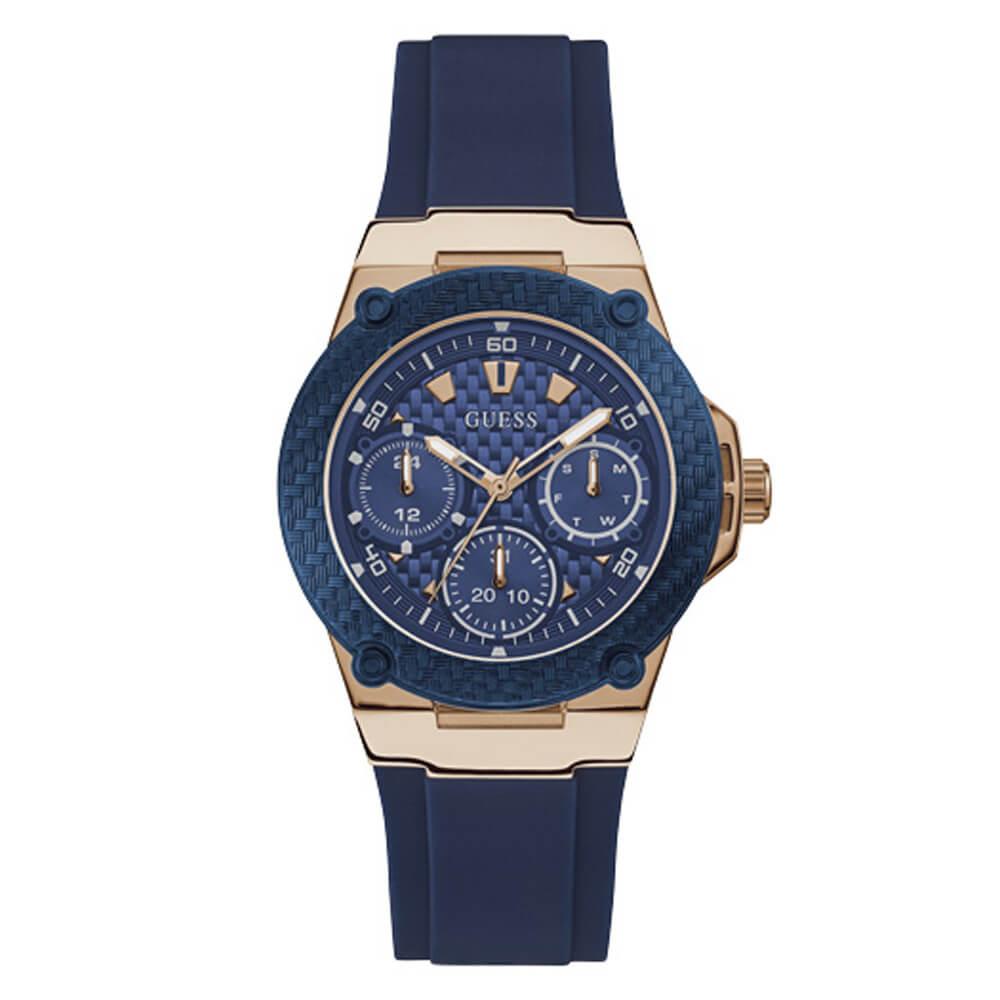 Γυναικείο ρολόι με μπλε λουράκι σιλικόνης GUESS W1094L2  a82e40a6237