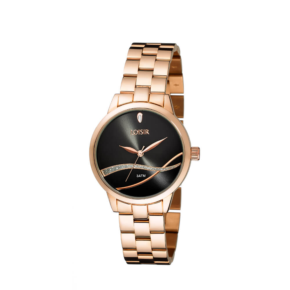 c315166b4 Ladies' watch made of steel in rose gold Surf Watch LOISIR 11L05-00394