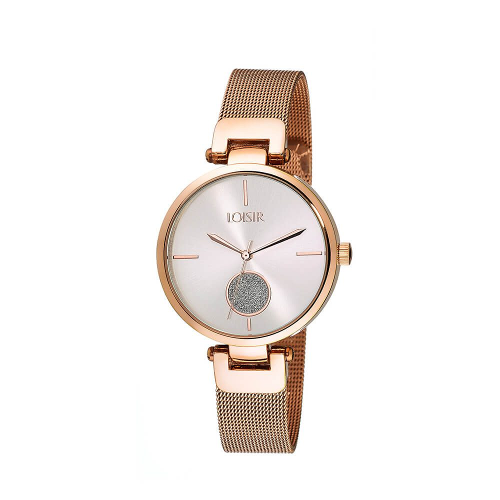 4b8b629cd Ladies' watch with bracelet in rose gold Spot Watch LOISIR 11L05-00401